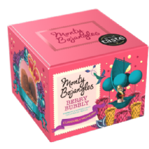 Monty Bojangles French Berry Bubbly Cocoa Dusted Truffles 150g